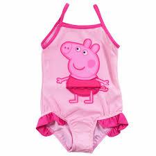 2017 peppa pig swimwear new girls kids fairy tinkerbell tankini