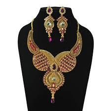 long gold necklace sets images Long rani haar necklace set necklace sets shopcj jpg