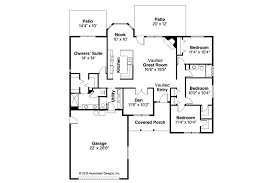 Traditional House Floor Plans Traditional House Plans Eldon 30 076 Associated Designs