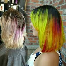Wash Hair Before Color - electric starburst hair color hair colors ideas