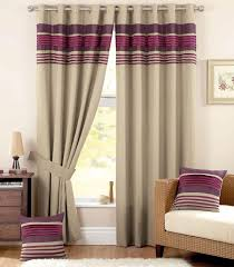 Purple And Cream Striped Curtains Beautiful Sheer Shower Curtain Pictures Interior Design Ideas