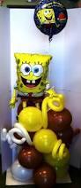 Spongebob Centerpiece Decorations by Birthday Bouquets Birthday Centerpieces Columns Birthday Numbers