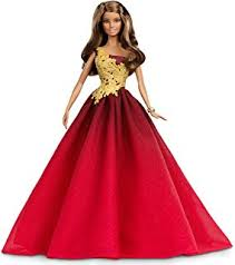 amazon barbie collector 2015 holiday caucasian doll toys u0026 games