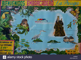 Map Of Veracruz Mexico by Tourist Map Of Lake Catemaco Catemaco Veracruz Mexico Stock