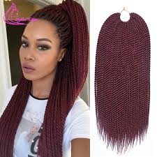 different types of crochet hair 18inch 75g 30strands pack quality havana mambo twist crochet braid