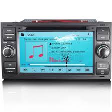 ford focus mk2 u0026 transit mk7 hd stereo gps sat nav internet