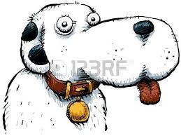 friendly cartoon dog stock photo picture and royalty free image