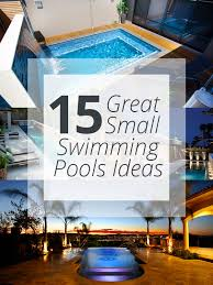 Great Small Backyard Ideas 15 Great Small Swimming Pools Ideas Home Design Lover