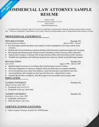 commercial law attorney resume lawyer resume examples resume for
