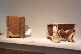 Plywood Design At Museum Of Arts And Design Amazing Wood Furniture Arts Observer