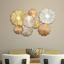 overstock com home decor stratton home decor multi metallic circles wall decor free