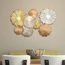 Stratton Home Decor Multi Metallic Circles Wall Decor Free