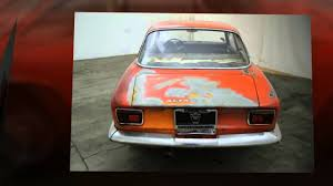 alfa romeo classic for sale 1969 alfa romeo gtv for sale youtube