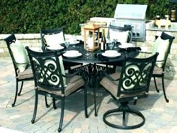patio dining table set round patio dining sets furniture inspiring outdoor rounded dining