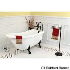 Oil Rubbed Bronze Clawfoot Tub Faucet Kingston Brass Aqua Eden 66