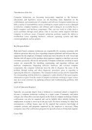 Sample Computer Technician Resume by Army Supply Technician Resume Virtren Com