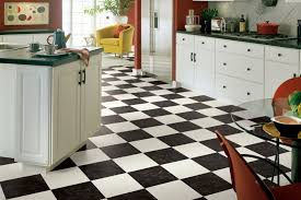 Vinyl Kitchen Flooring Black White Vinyl Flooring Armstrong Flooring Residential