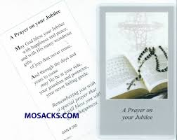 jubilee anniversary of religious greeting cards