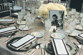 reception décor photos 1930s themed tablescape inside weddings