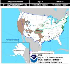Us Climate Map U S Hazards Outlooks Maps Noaa Climate Gov