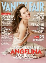 Plot Of Vanity Fair Cover Exclusive Angelina Jolie On Being Married To Brad Pitt U201cit