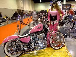 pink sparkly cars pink harley u0026 false lady azhben flickr