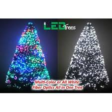ledtrees 7 ft fiber optic christmas tree fibre optic trees