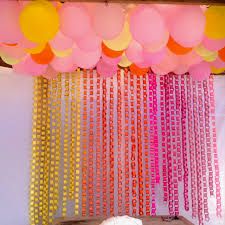 Pink And Yellow Birthday Decorations If You Plan To Have A Photo Booth This Could Be Fun Elaina Could
