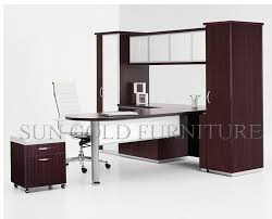 Chinese Desk Modern Chinese Supply Modular U Shape Office Desk With Book Shelf