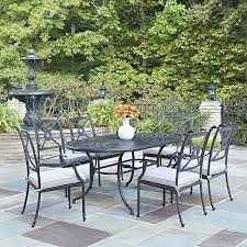 Amazon Com Patio Furniture Sets - amazon com home styles 5569 338 athens 7 piece dining set of