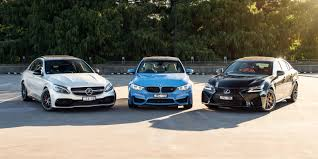 lexus isf vs bmw m3 bmw m3 v lexus gs f v mercedes amg c63 s comparison gearopen
