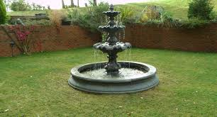 garden water fountains west sussex derybshire