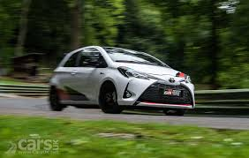 toyota yaris grmn gets uk debut at carfest north uk gets 100