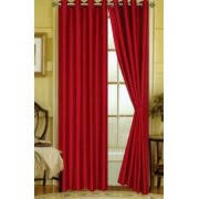 Grommet Curtains 63 Length Red Curtains