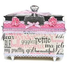 personalized jewelry box for baby 19 best memory boxes for babies images on memories box