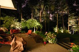 Backyard Patio Lighting Ideas by Triyae Com U003d Lighting Design For Backyard Various Design