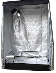 new indoor grow tent box silver mylar lined bud dark green room