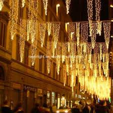 china christmas outdoor led curtain icicle string led lights
