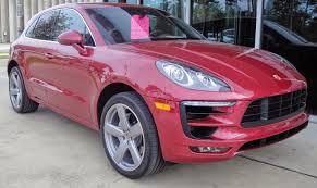 Porsche Macan Red - stefan anderson porsche of destin 2015 porsche macan s ltd ed