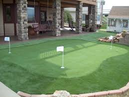 a backyard putting green turf artificial grass for golf progreen
