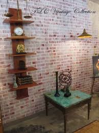 How To Paint A Faux Brick Wall - vintage faux brick painted wall decor hometalk