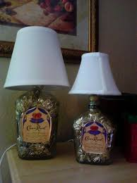 Lamps Made From Bottles Angela U0027s Crown Royal Bottle Lamps How To Make A Bottle Lamp