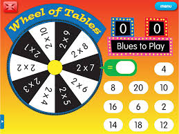 wheel of tables a year 4 times tables worksheet