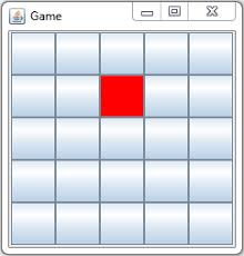 grid layout how to java how to get x and y index of element inside gridlayout