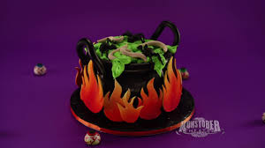 Nerdy Nummies Halloween Cakes Cauldron Cake Halloween Cakes Disney Channel Youtube
