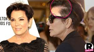 kris jenner haircut 2015 hair today gone tomorrow kris jenner reveals bald spot top