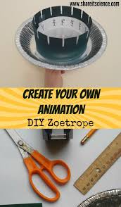 diy engineering projects share it science diy zoetrope animation steam project create