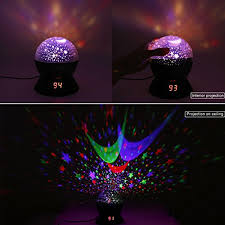 night light projector for kids star sky night l anteqi baby lights 360 degree romantic room