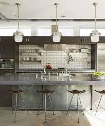 comptoir ciment cuisine ilot central en béton ou l accent industriel dans notre cuisine