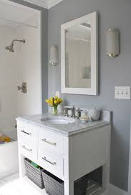 ideas for painting bathrooms small guest bathroom color ideas cheerful inspirations paint